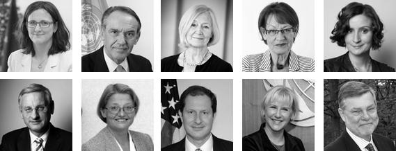 Photo: European Commission, Mark Garten, Carina Gran, Susanne Sandström, Regeringskansliet, Johan Ödmann, Wikipedia, US Embassy, Paulo Filgueiras & Socialdemokraterna.
